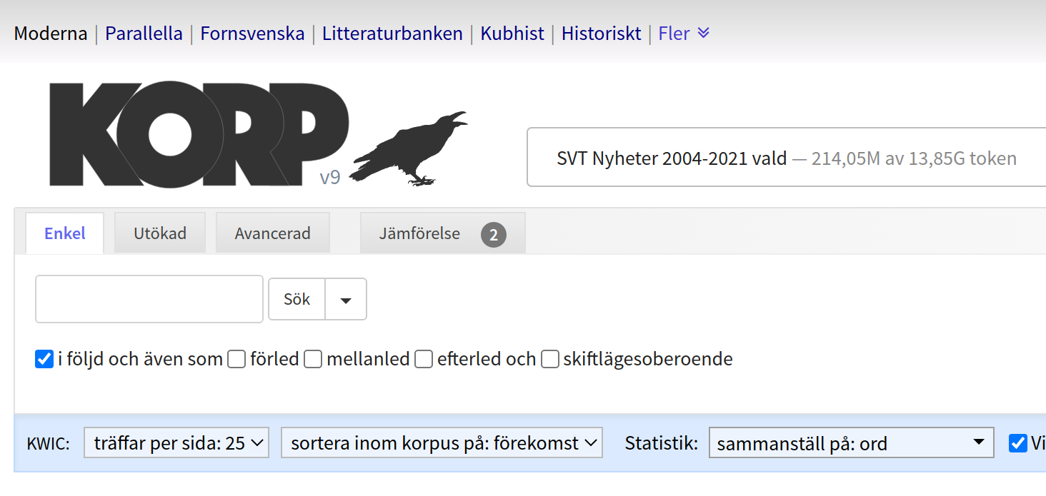 Korp korpus SVT Nyheter