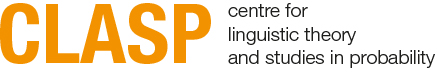 CLASP: Centre for Linguistic Theory and Studies in Probability
