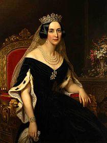 Drottning Josefina, porträtt Axel Nordgren