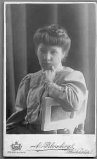 Elin Wägner (KvinnSam, Göteborgs universitetsbibliotek)