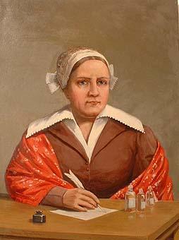Maria Jansson, Kisamor, porträtt av Johan Krouthén