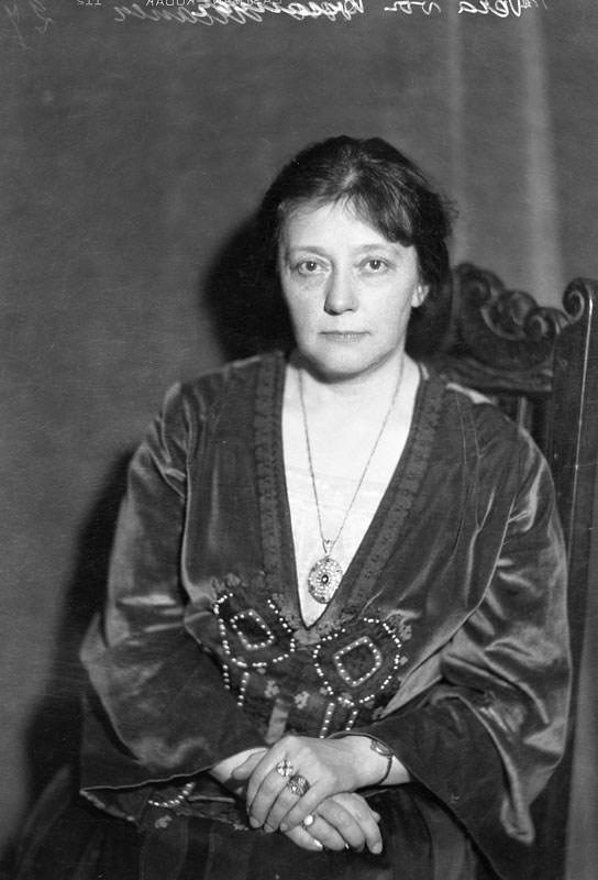 Vera von Kraemer. Fotograf: Jan de Meyere (1879-1950), skapad 1925-1940, fotonummer JdM 1282 (Stockholmskällan)