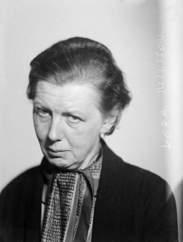 Vera Nilsson. Fotograf: jan de Meyere, (1879-1950), skapad 1925-1941, fotonummer JdM 1846 (Stockholmskällan)