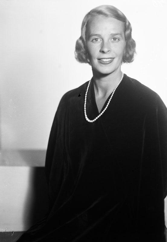 Eva Dickson. Fotograf: Jan de Meyere, (1879-1950), skapad 1925-1941, fotonummer JdM 465 (Stockholmskällan)