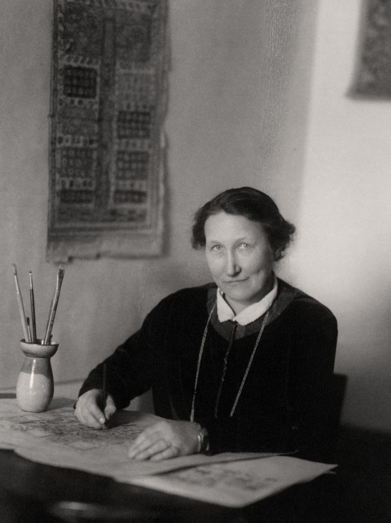 Märta Måås-Fjetterström, 1920-talet (Nordiska museet)