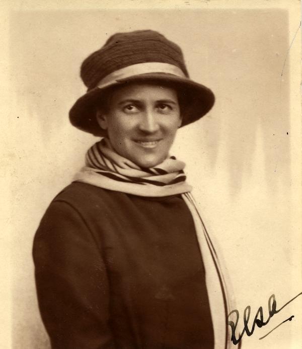 Elsa Björkman-Goldschmidt (KvinnSam, Göteborgs universitetsbibliotek)