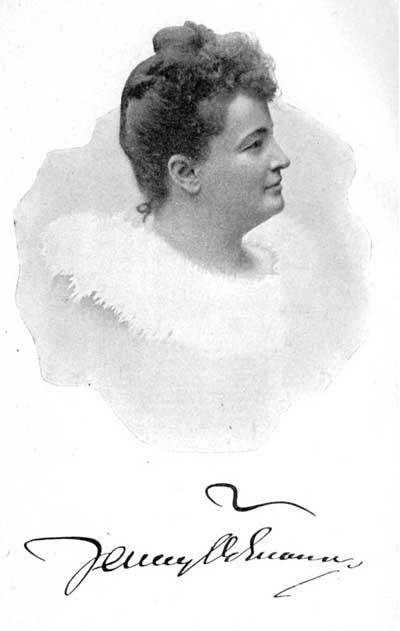 Jenny Ödmann, år och fotograf okända. Bildkälla: Litteraturbanken