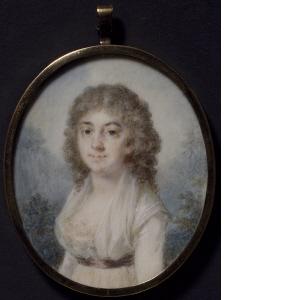 Magdalena Rudenschöld, porträtt av Elise Arnberg (Nationalmuseum)