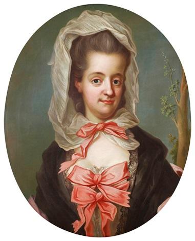 Sofia Albertina, porträtt av Gustaf Lundberg (Nationalmuseum)