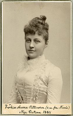 Anna Norrie 1884