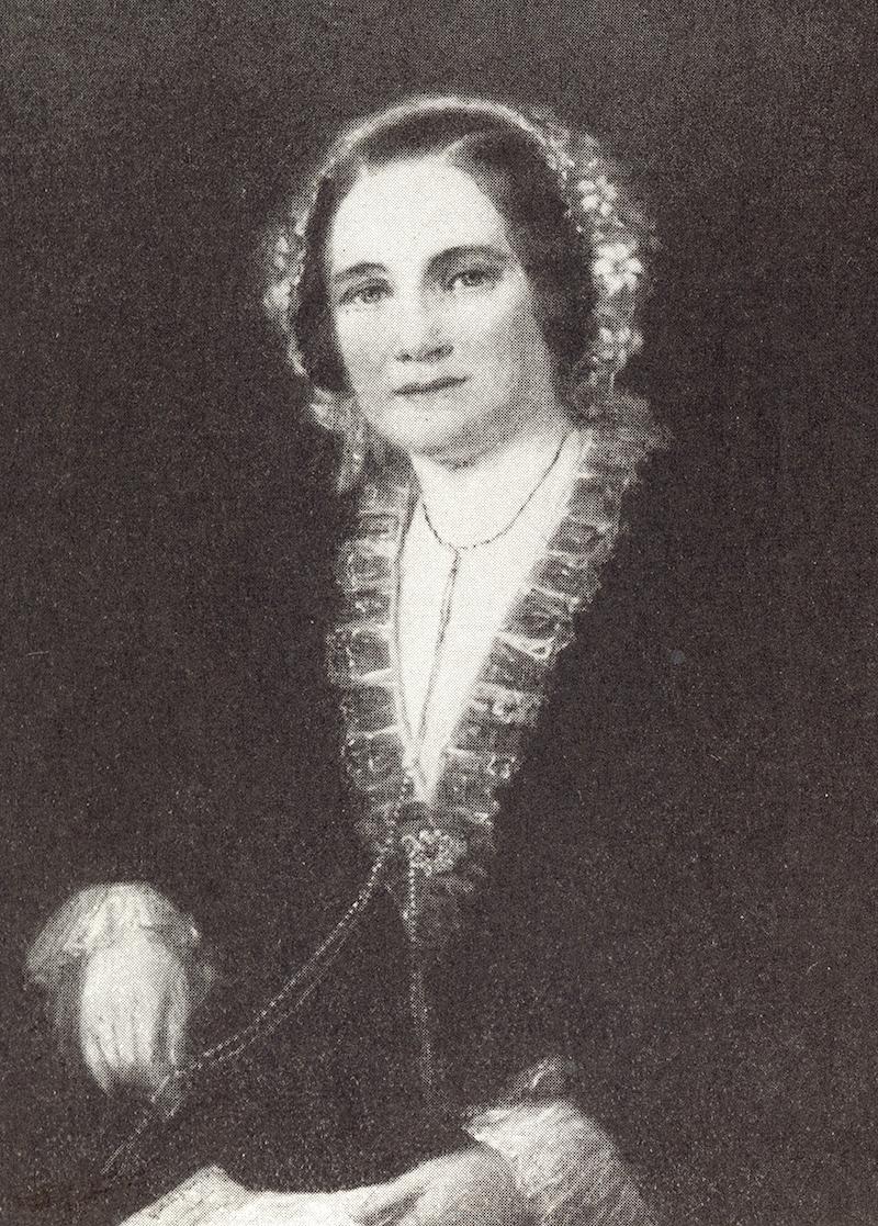 Elise Frösslind, porträtt av M. K. Cardon