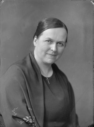 Ester Lutteman. Fotograf: Per Bagge (Lunds universitetsbibliotek)