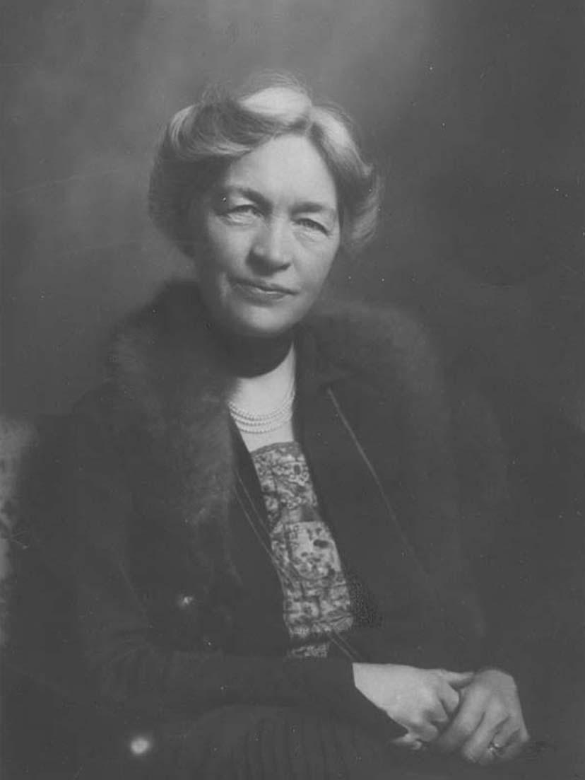 Kerstin Hesselgren (KvinnSam, Göteborgs universitetsbibliotek)