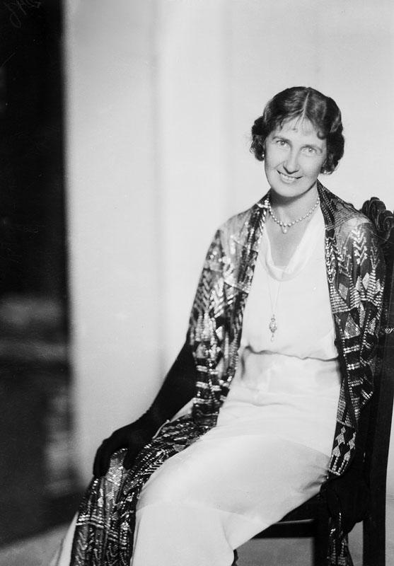 Mary von Rosen. Fotograf: Jan de Meyere, (1879-1950), skapad 1925-1941, fotonummer JdM 2192 (Stockholmskällan)