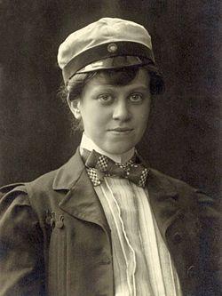 Elsa Collin, ca 1907