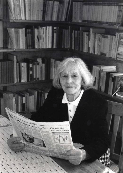 Britta Gröndahl, 1994 (Tidningen Arbetaren, fotograf: Tommy Nilsson)