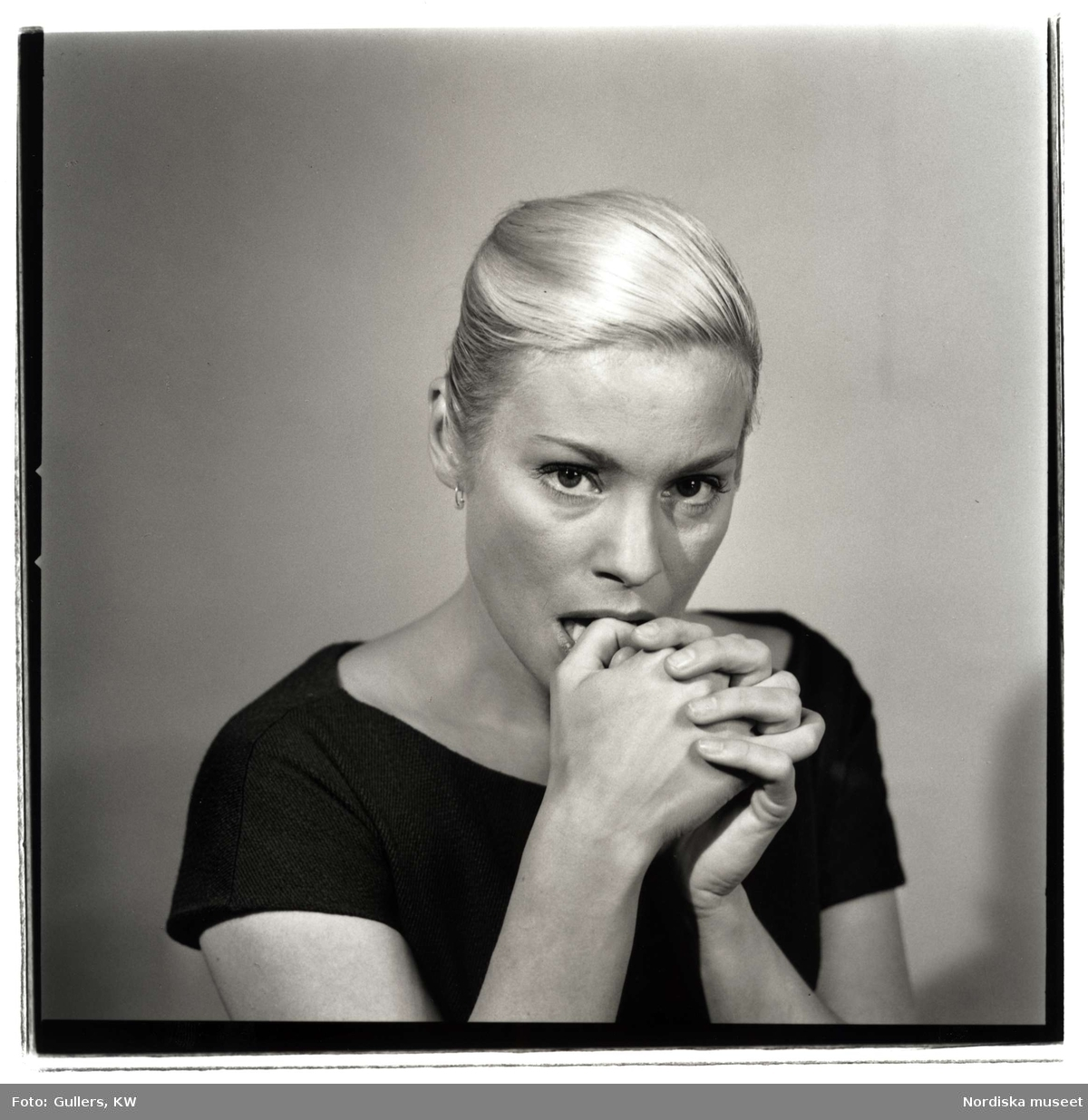 Ingrid Thulin. Fotograf: KW Gullers (Nordiska museet)