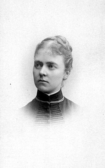 Ebba Bernadotte f. Munck. Fotograf: Gösta Florman (Västergötlands museum)