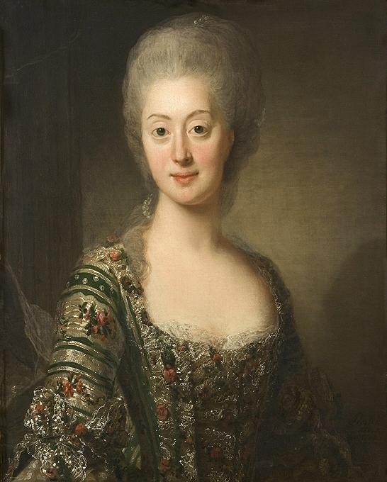 Sofia Magdalena, porträtt av Alexander Roslin