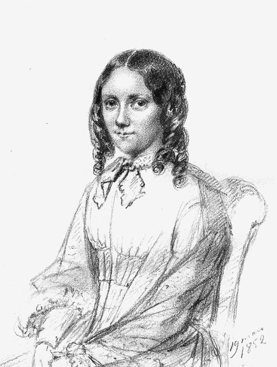 Jeanette Granberg, porträtt av Maria Röhl (Kungliga biblioteket)