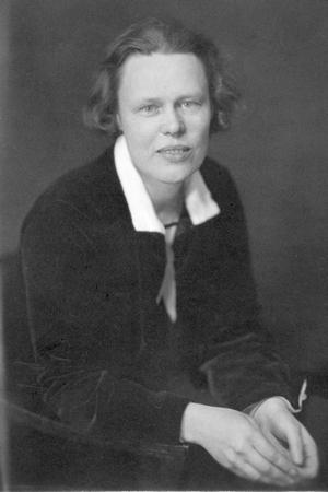 Gunhild Tegen (Sundsvalls museums fotoarkiv)