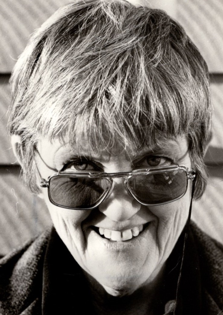 Kerstin Abram-Nilsson, year unknown. Photo: Bo Lundberg (privately owned image)