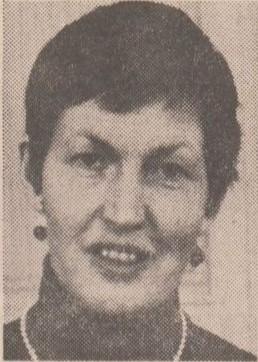 Birgitta Adde in Svenska Dagbladet, 1970-04-10. Fotograf okänd