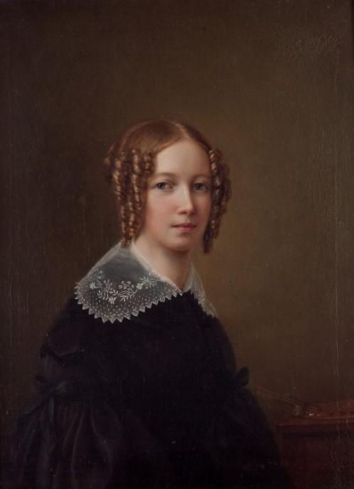 Sophie Adlersparre. Självporträtt (olja på duk, år okänt). Nationalmuseum, NMGrh 4964. Foto: Sofia Persson
