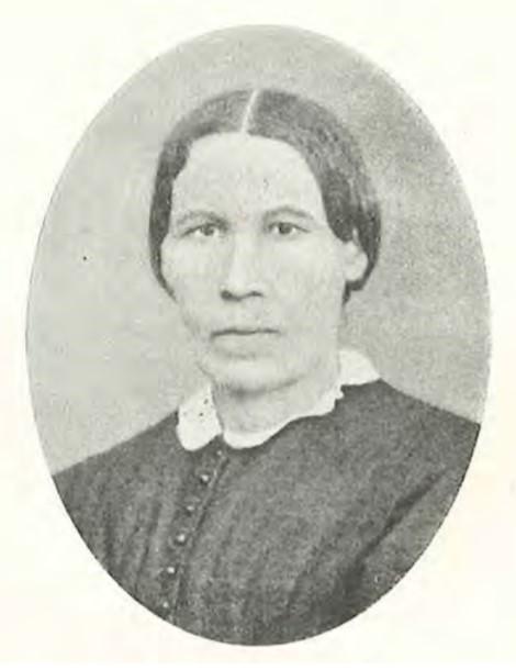 Portrait of Anna Åfelt in Ambrosius, J.M. et al, Skånska folkskolor: Minnen, urkunder och undersökningar, Lund 1930. Photographer unknown