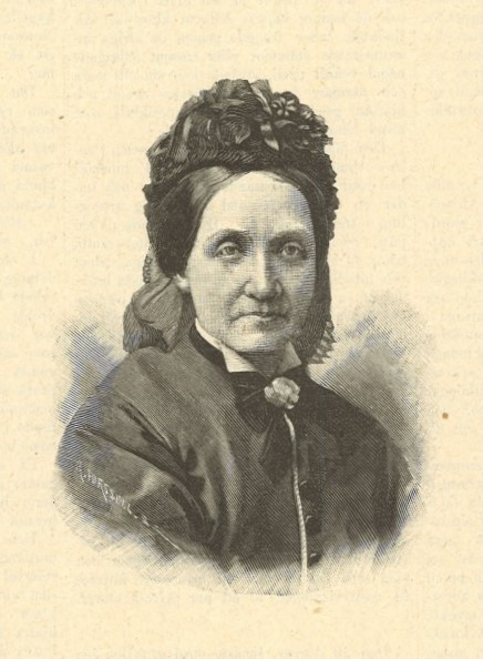 Pauline Åhman in Idun nr 17, 1892. Photographer unknown (KvinnSam, Gothenburg University Library)
