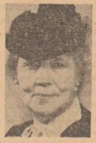 Jenny Åkerström in Svenska Dagbladet 5 October 1948. Photographer unknown