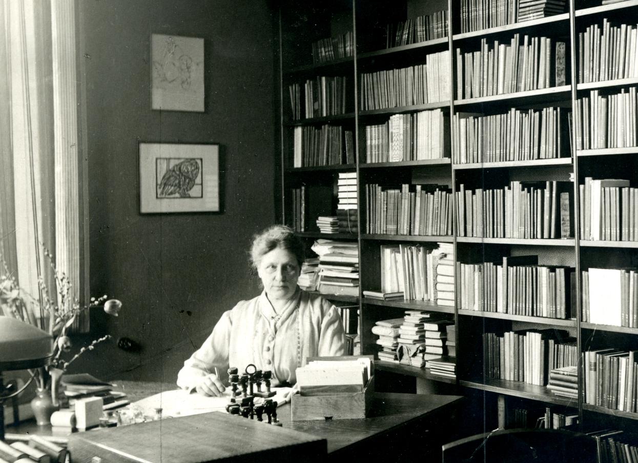 Alvida Sandberg (KvinnSam, Göteborgs universitetsbibliotek)