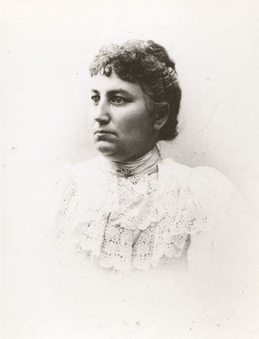 Cecilia Anderson. Photographer and year unknown (Helsingborgs museers samling, 19-225)