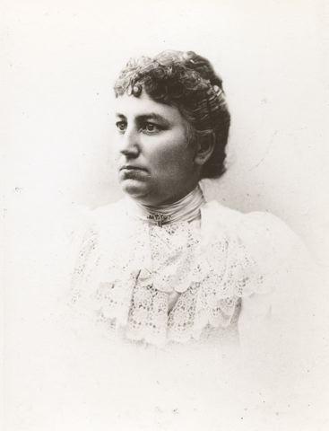 Cecilia Anderson. Fotograf och år okänt (Helsingborgs museers samling, 19-225)