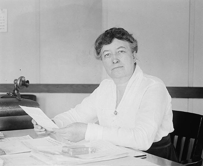 Mary Anderson, 1920. Fotograf okänd. Library of Congress, Prints & Photographs Division, [LC-DIG-npcc-02141]