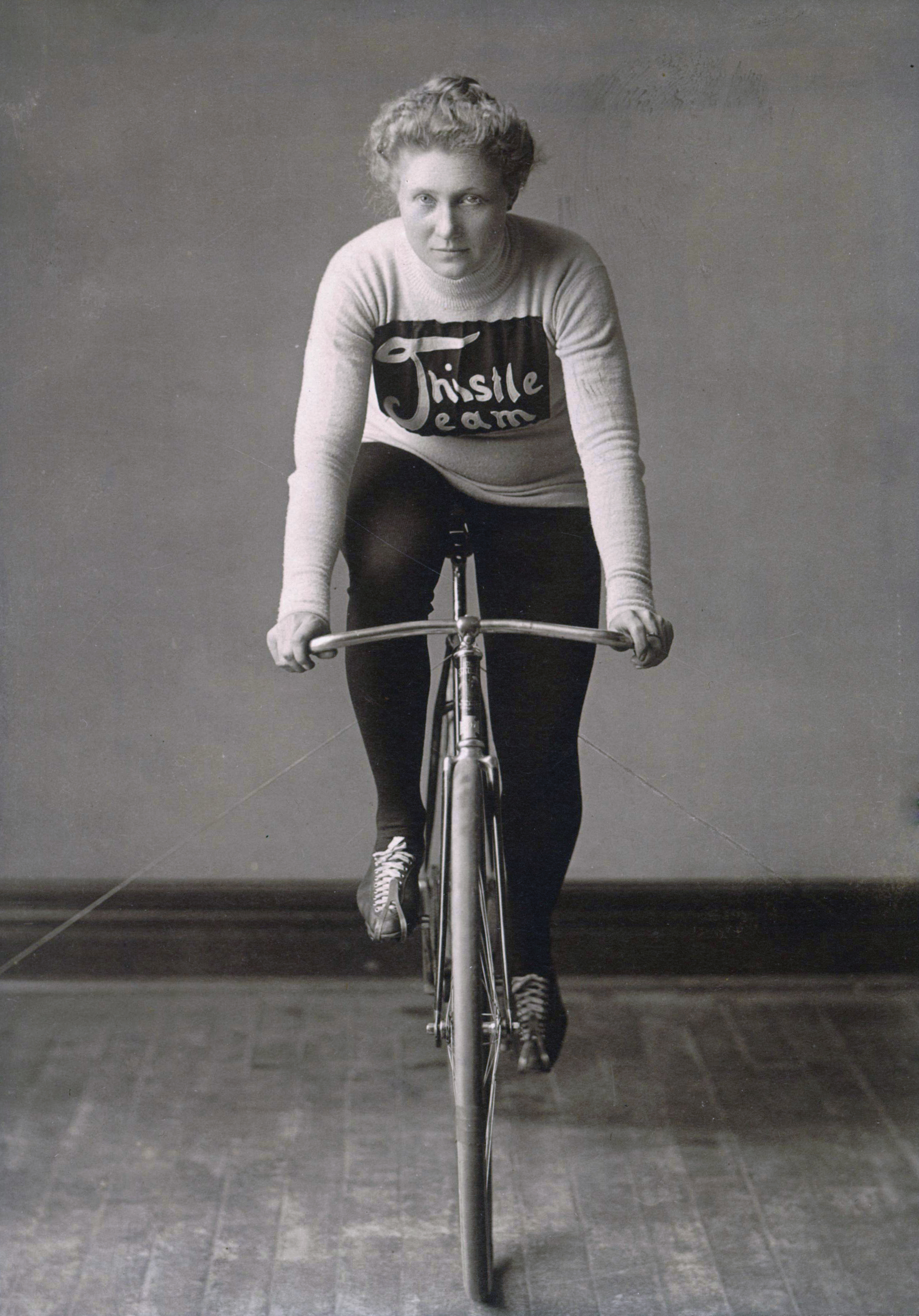 Tillie Anderson. Photgrapher and year unknown (Wikimedia Commons, Alice Olson Roepke)