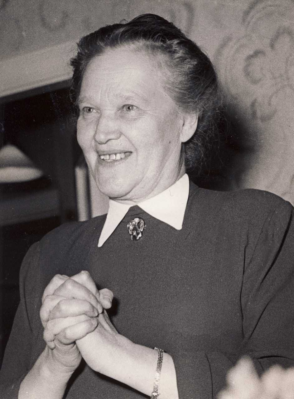 Ida Andersson, photographer and year unknown. Örebromissionens arkiv, ArkivCentrum, Örebro län