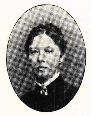 Maria Anholm. Fotograf och år okänt. Bildkälla: Svenskt Porträttarkiv (CC-BY-SA 4.0)