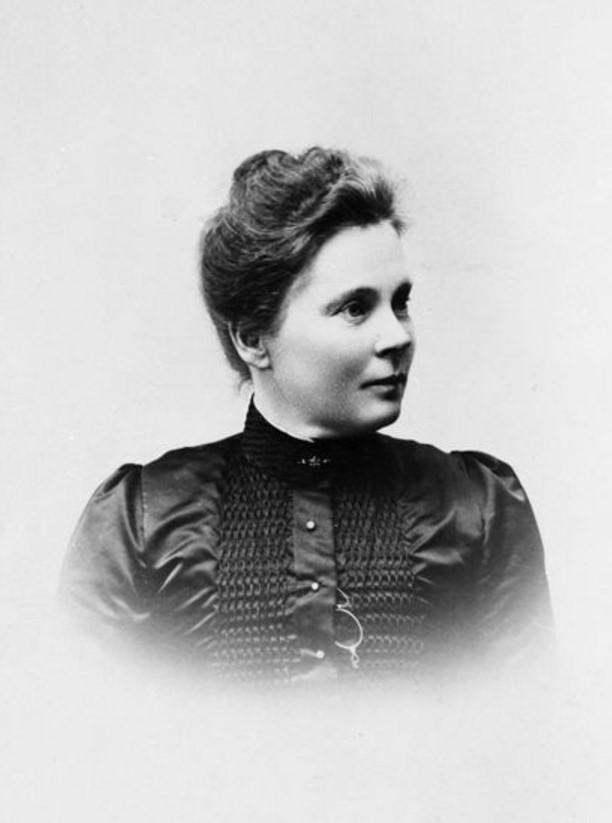 Elisabeth Anrep-Nordin, year unknown. Photo: Ragnar Eiserman (1877-1950). Vänersborgs museum (VMO07362)