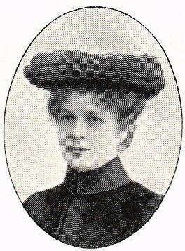Agnes Arvidson. Fotograf och år okänt. Bildkälla: Svenskt Porträttarkiv (CC-BY-SA 4.0)