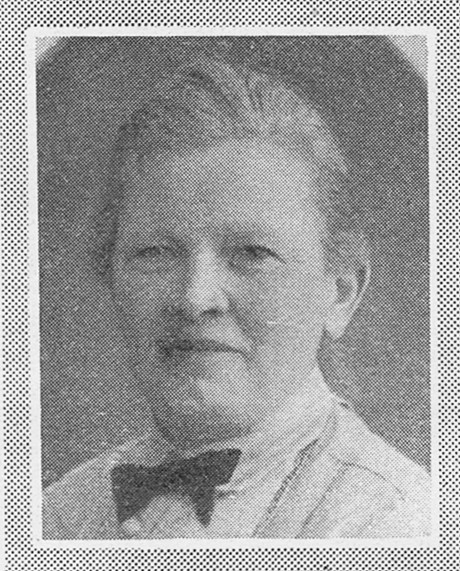 Maria Aspman shortly before her 65th birthday. Idun, 1930, photographer unknown. Image source: Svenskt Porträttarkiv (cropped, CC-BY-NC-SA 4.0)