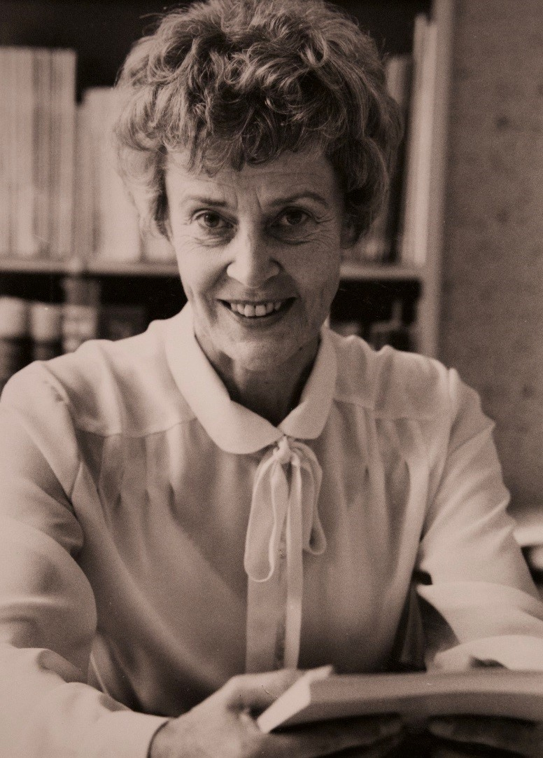 Irma Åstrand, 1988. Photographer unknown (privately owned image)