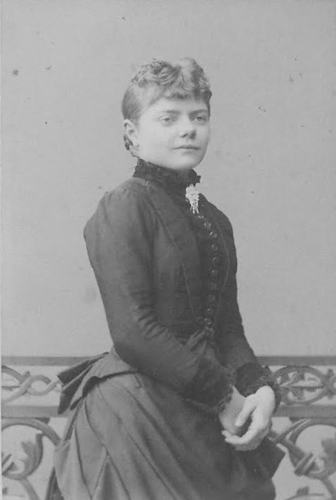 Valborg Aulin, year unknown. Photo: Selma Jacobsson (1841-1899), Stockholm