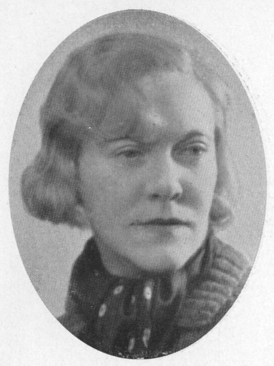 Signe Barth. Photographer and year unknown. Image source: Svenskt Porträttarkiv (CC-BY-SA 4.0)