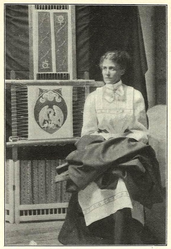 Elisabet Bastholm in Idun nr 30, 1906. Photo: A. Backlund (KvinnSam, Gothenburg University Library)