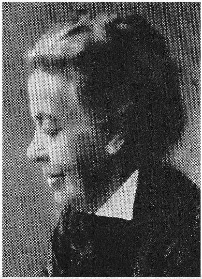 Emma Bendz. Photographer and year unknown. Image source: Svenskt Porträttarkiv (CC-BY-SA 4.0)