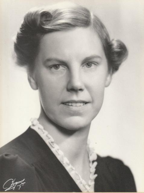 Margit Bergendorff in Husmodern nr 29, 1938. Photographer unknown