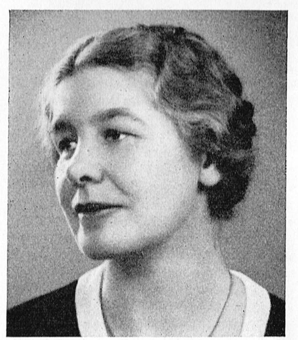 Astrid Berwald in Svenska män och kvinnor: biografisk uppslagsbok, 1949. Photographer unknown. Image source: Svenskt Porträttarkiv (CC-BY-NC-SA 4.0)