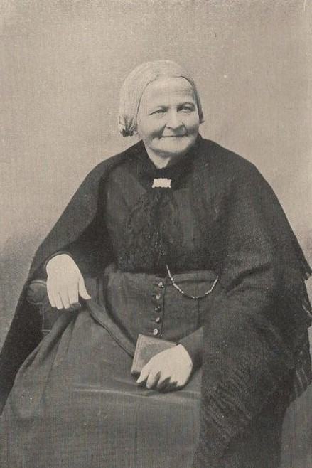 Portrait of Elsa Borg in her autobiography Lefnadsminnen, [1. uppl.], Fosterlandsstift, Stockholm, 1910. Fotograf okänd