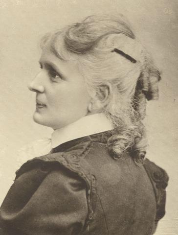Kristina Borg, 1899. Photographer: Alfred B Nilson (Helsingborgs museer) Image source: http://museum.helsingborg.se/